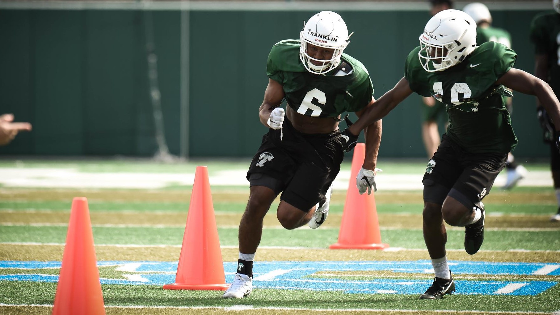 Tulane Green Wave Practice
