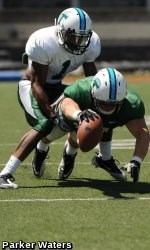 f29a4a819 Aerial Attack Highlights Tulane s 61-Play Spring Scrimmage - Tulane ...