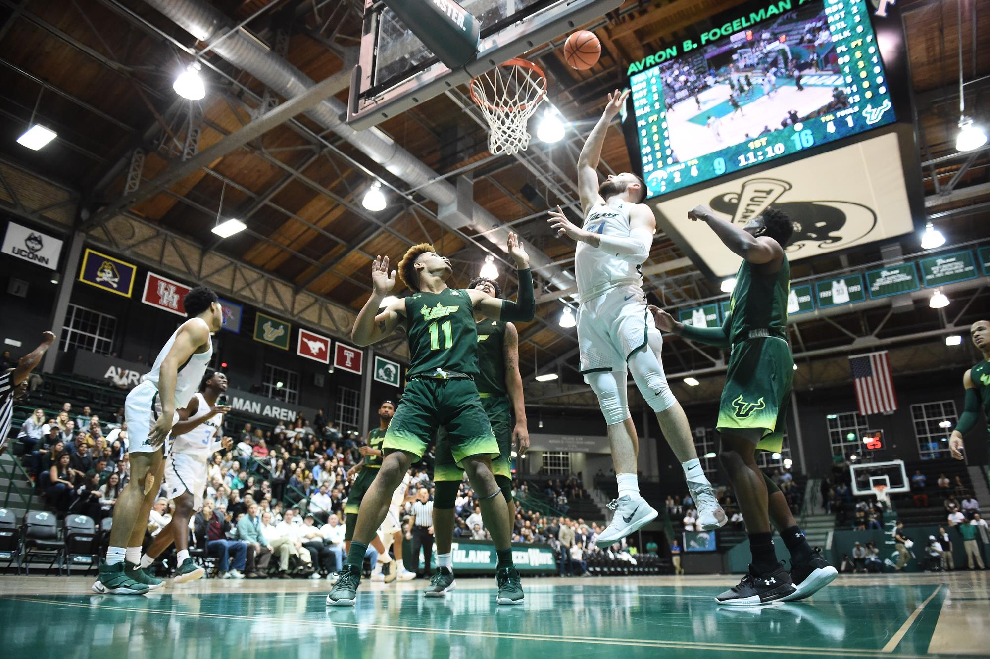 Late Rally Comes Up Short in Men's Basketball's Setback to USF