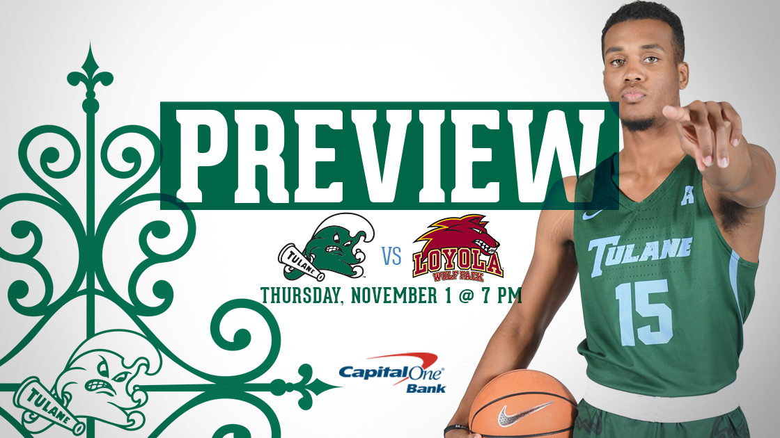 new concept d9dc5 caa92 Men's Basketball Hosts Loyola-New Orleans in Exhibition Tune ...