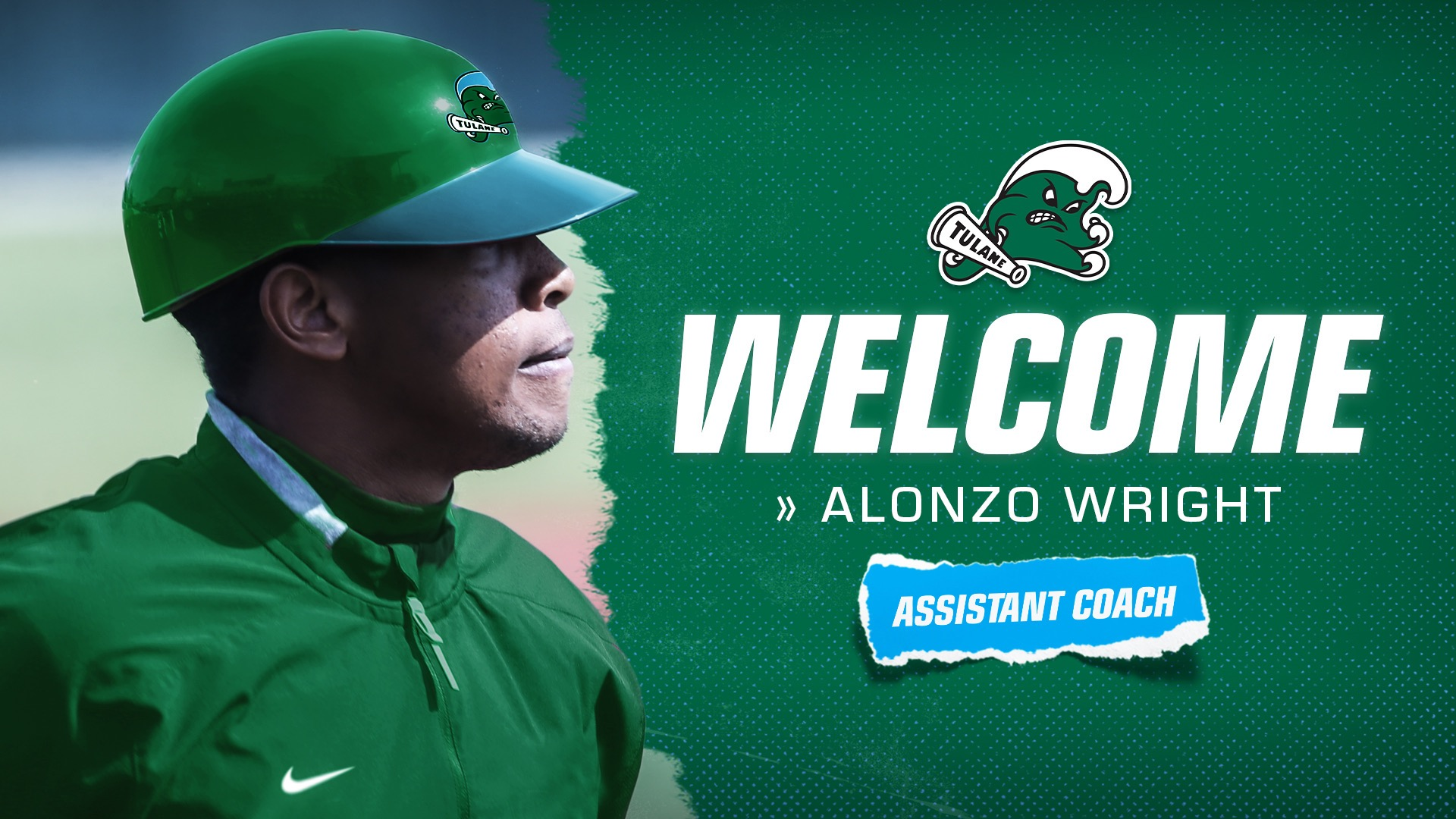 Tulane baseball Alonzo Wright
